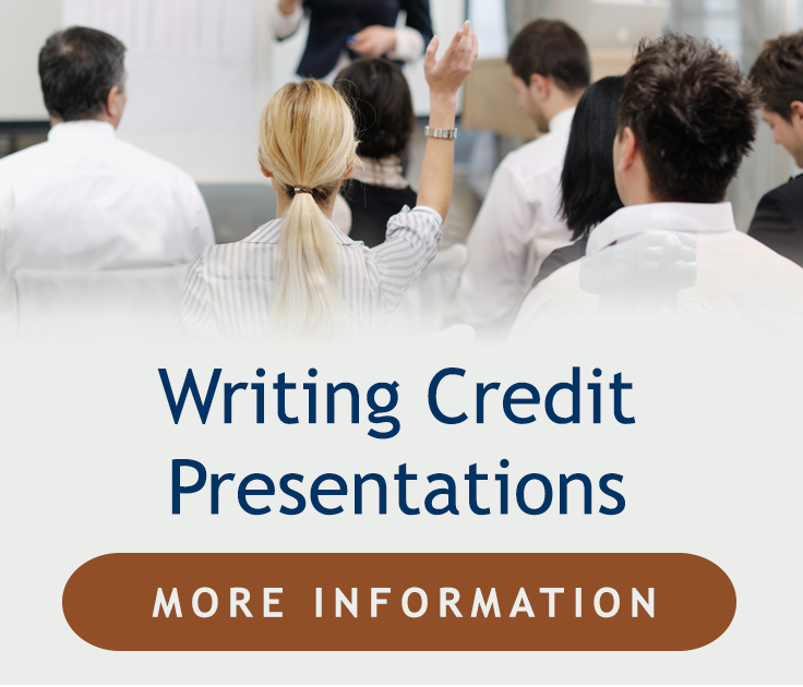 Writing Credit Presentations, click here for more information.
